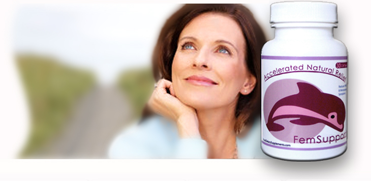 Natural  Menopause Relief Fem Support